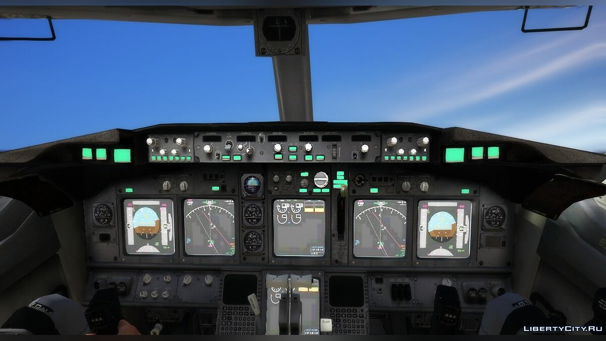 Planes and helicopters Boeing 737-800 [Add-On Template] for GTA 5
