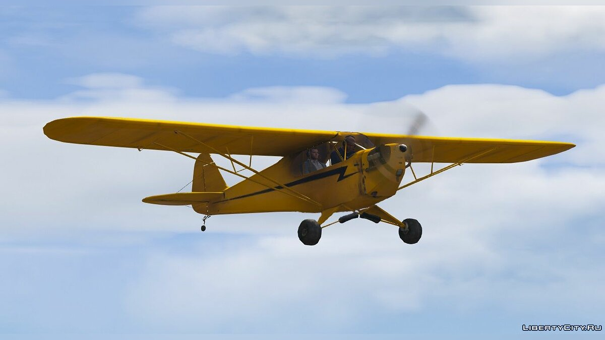 Planes and helicopters Piper J-3 Cub [Add-On] 1.0 for GTA 5