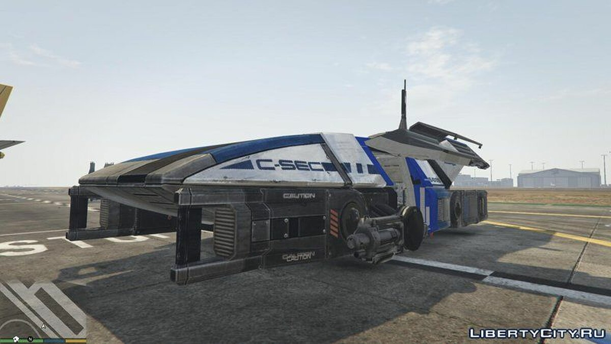 Planes and helicopters Shuttle New Generation [Add-On] for GTA 5