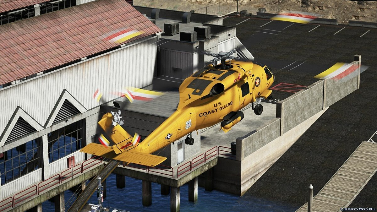 Planes and helicopters MH-60T Jayhawk [Add-On] 2.0 for GTA 5