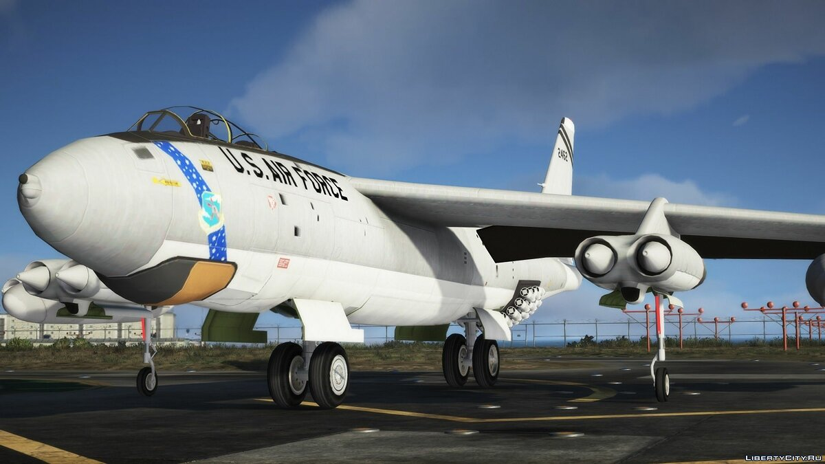 Planes and helicopters Boeing B-47E Stratojet [Add-On] for GTA 5