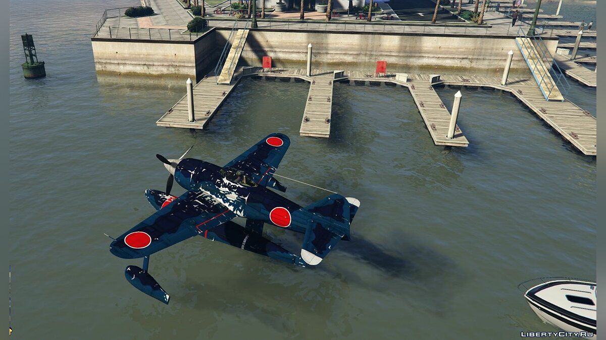 Planes and helicopters Kawanishi N1K-1 Kyofu [Add-On] 1.0 for GTA 5