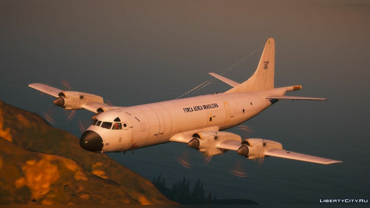 Lockheed P-3 Orion [Add-On] for GTA 5 - screenshot #2