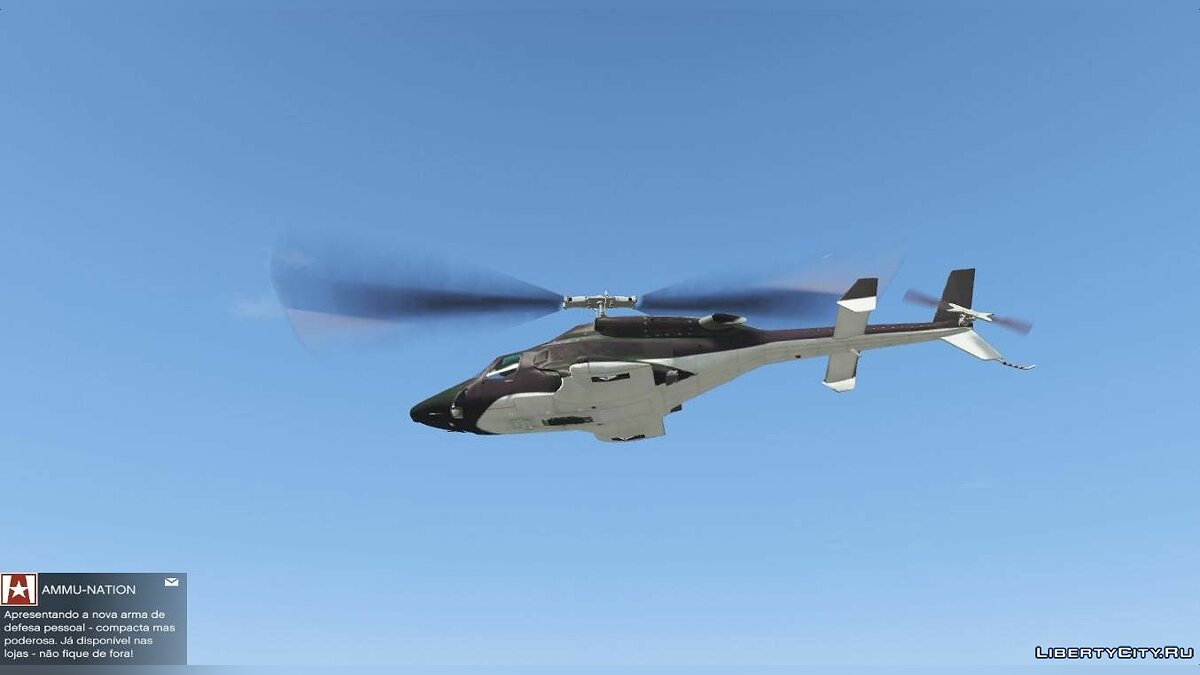 Planes and helicopters Helicopter from Airwolf movie for GTA 5