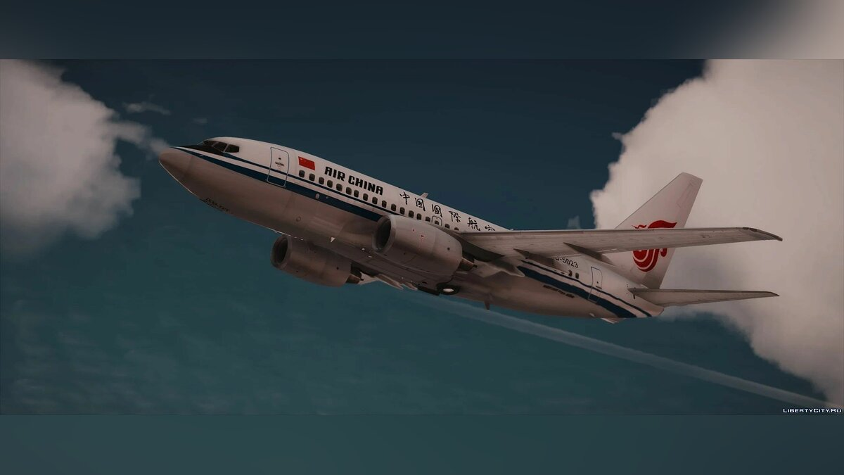 Planes and helicopters Boeing 737-600 [Add-On | Liveries] 1.0 for GTA 5