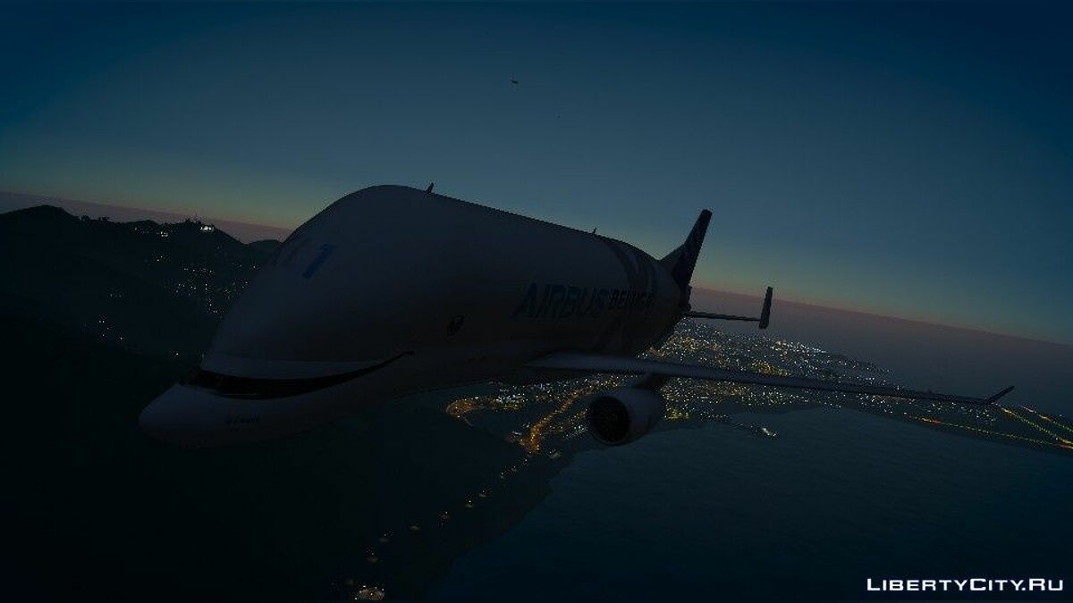 Planes and helicopters Airbus A330-743L Beluga XL [Add-On] 1.0 for GTA 5