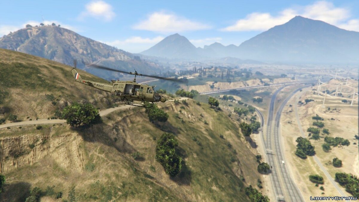 Planes and helicopters UH-1 - Royal Australian Air Force for GTA 5