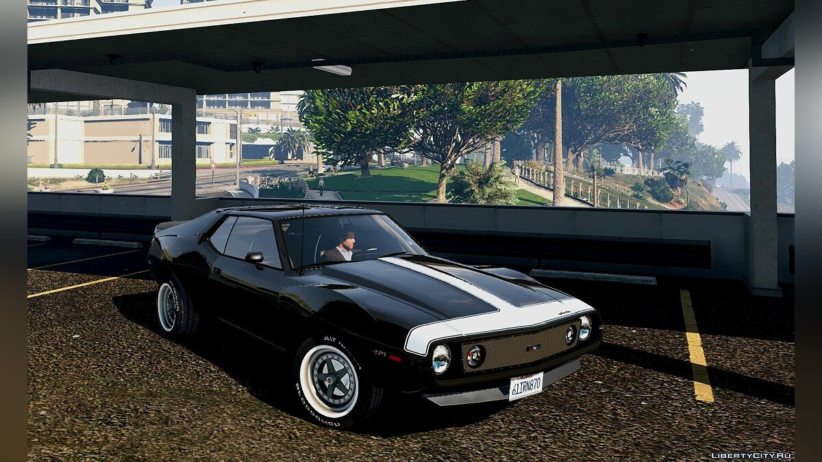 AMC car AMC Javelin AMX 401 1971 [Add-On / Replace] 1.0 for GTA 5