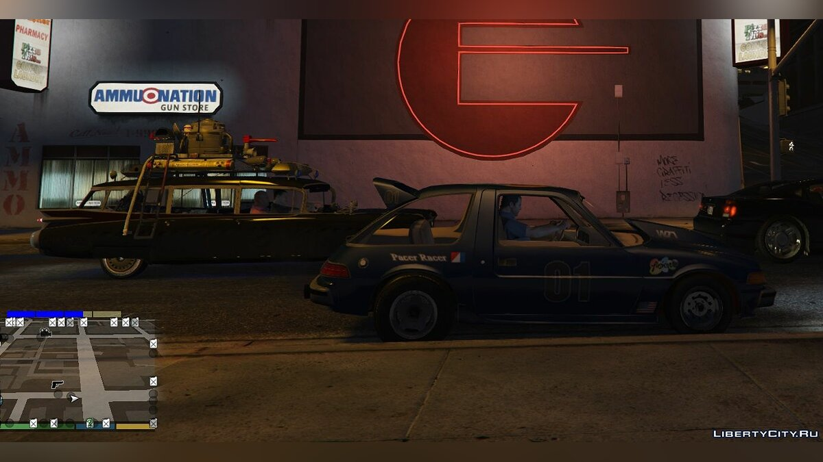 AMC car Amc Pacer [Addon / Replace] 0.1 for GTA 5