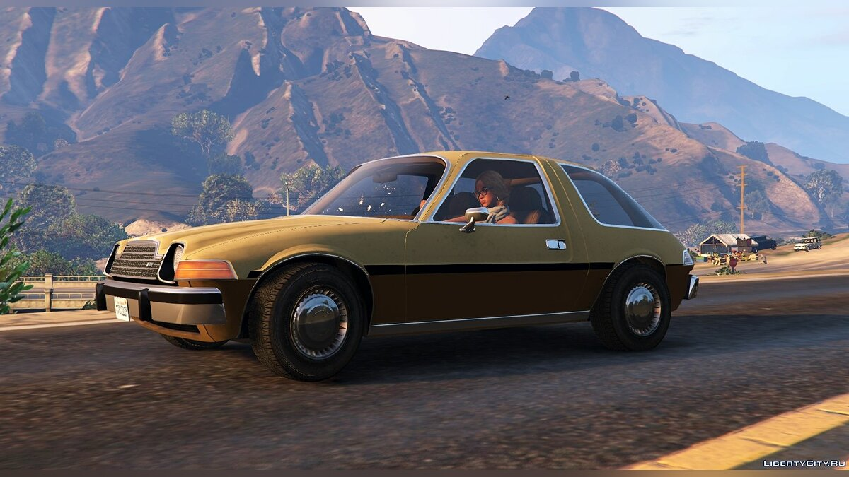 AMC car AMC Pacer 1976 [Add-On / Replace | Tuning | Livery] 1.2 for GTA 5