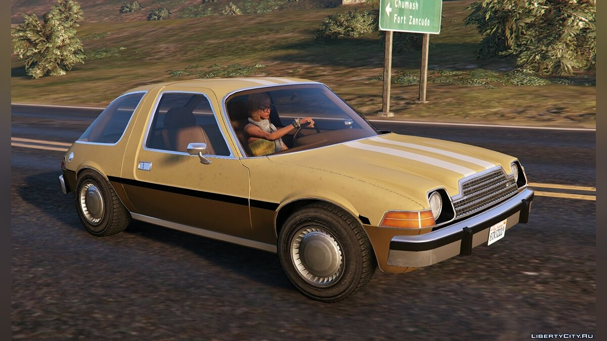 AMC car AMC Pacer [Add-On / Replace | Tuning | Livery] 1.33 for GTA 5