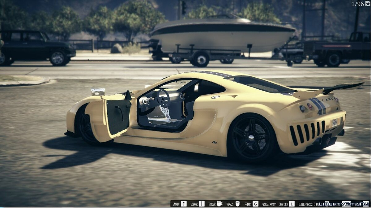 Ascari car Ascari A10 [Add-On] 1.0 for GTA 5