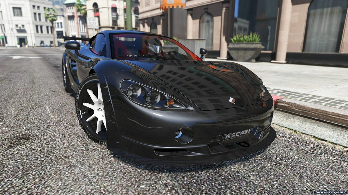 Ascari car Ascari KZ1R Limited Edition 1.0 for GTA 5