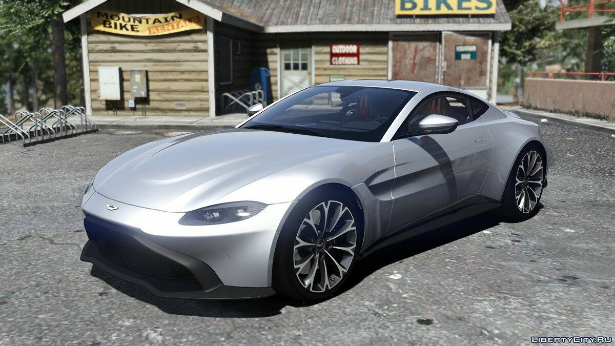 Aston Martin car 2019 Aston Martin Vantage [Add-on / Replace] V1.0 for GTA 5