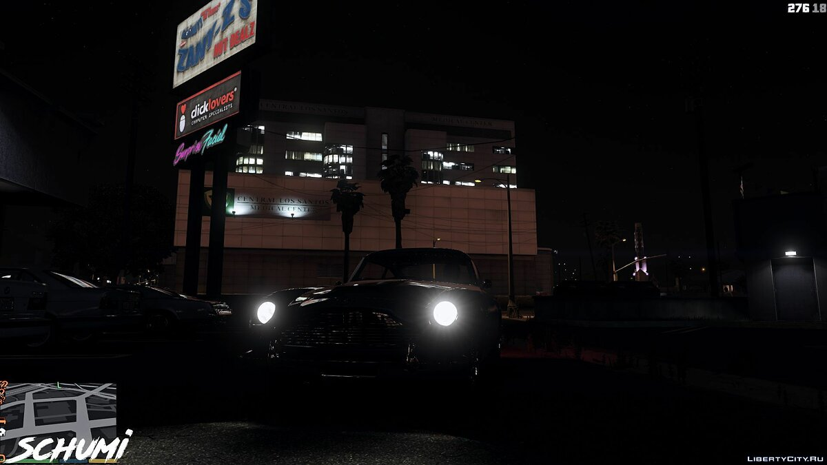 Aston Martin car Aston Martin DB5 1964 [Replace] 1.0 for GTA 5