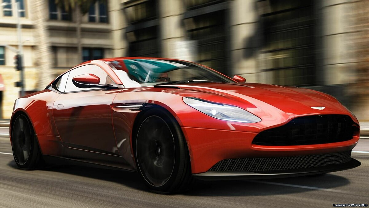 Aston Martin car Aston Martin DB11'17 1.0 for GTA 5