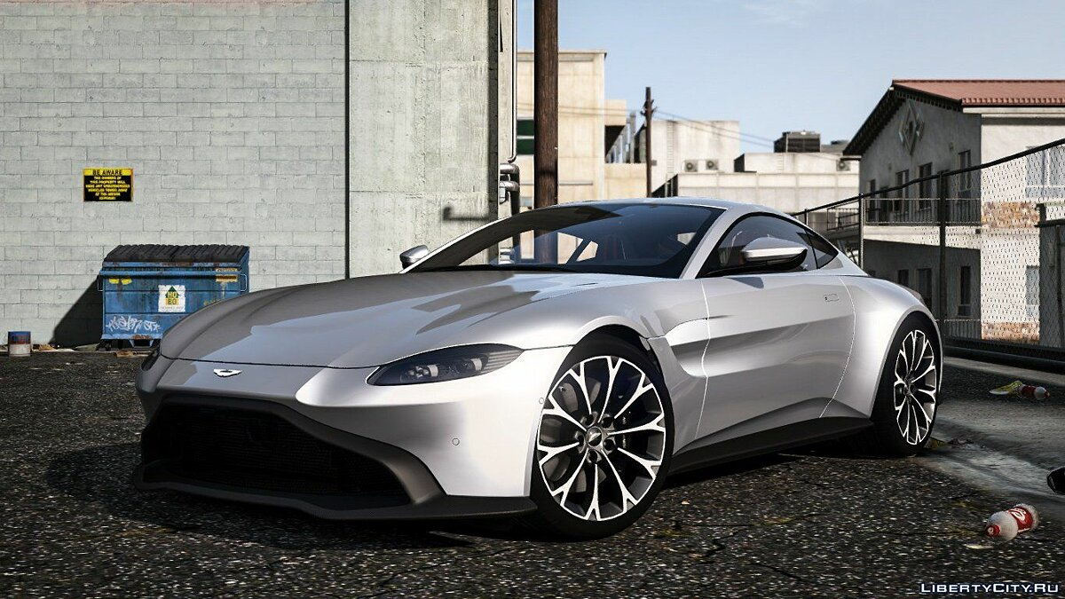 Aston Martin car 2019 Aston Martin Vantage [Add-on / Replace] V3.0 for GTA 5