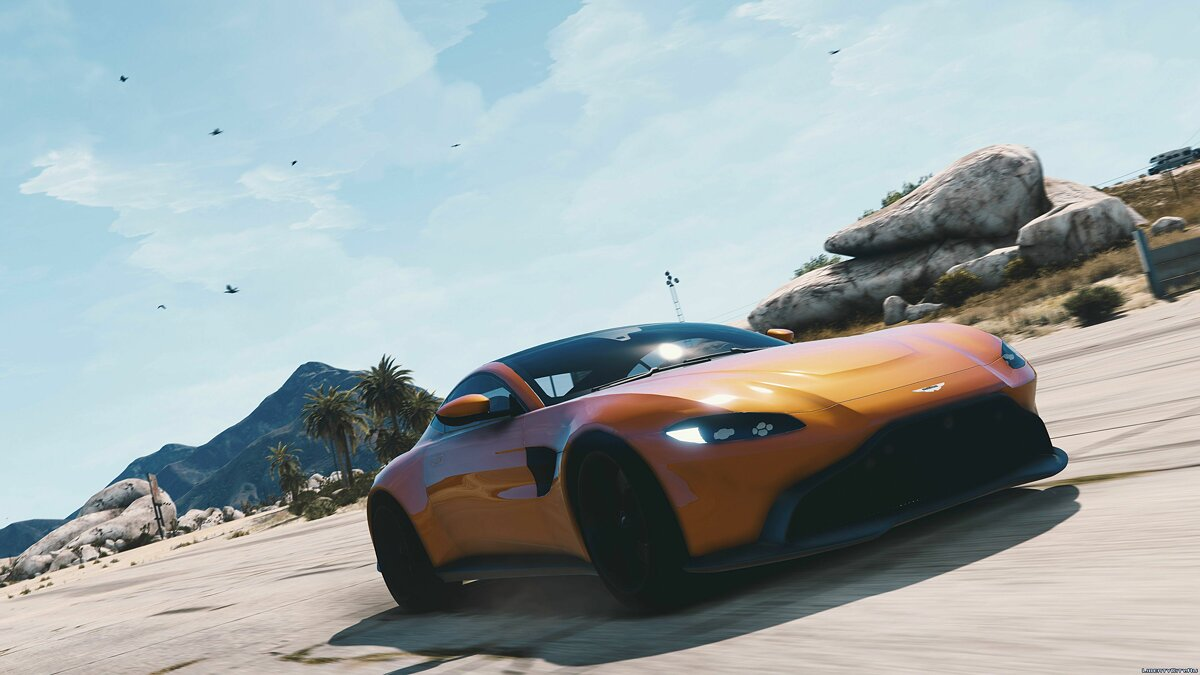 Aston Martin car Aston Martin Vantage 2019 [Add-On / Replace] 1.0 for GTA 5