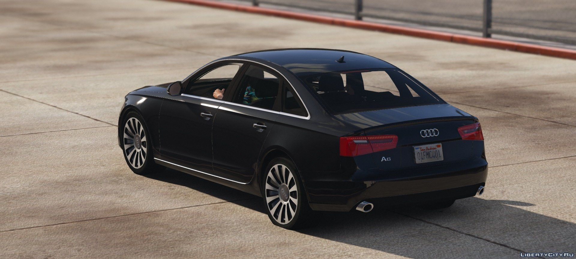 audi a6 c7 limousine 1 1 for gta 5. Black Bedroom Furniture Sets. Home Design Ideas