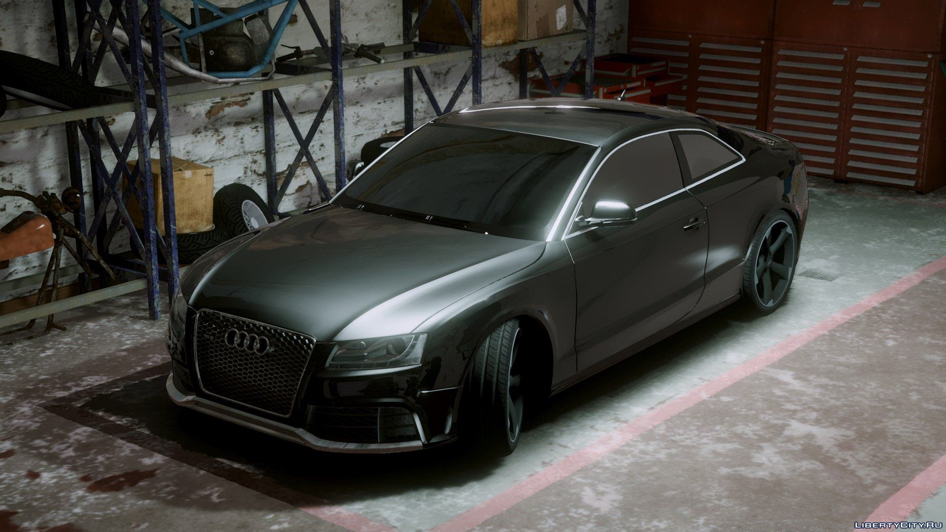 Audi Rs5 2011 Add On Replace Tuning 1 6 For Gta 5