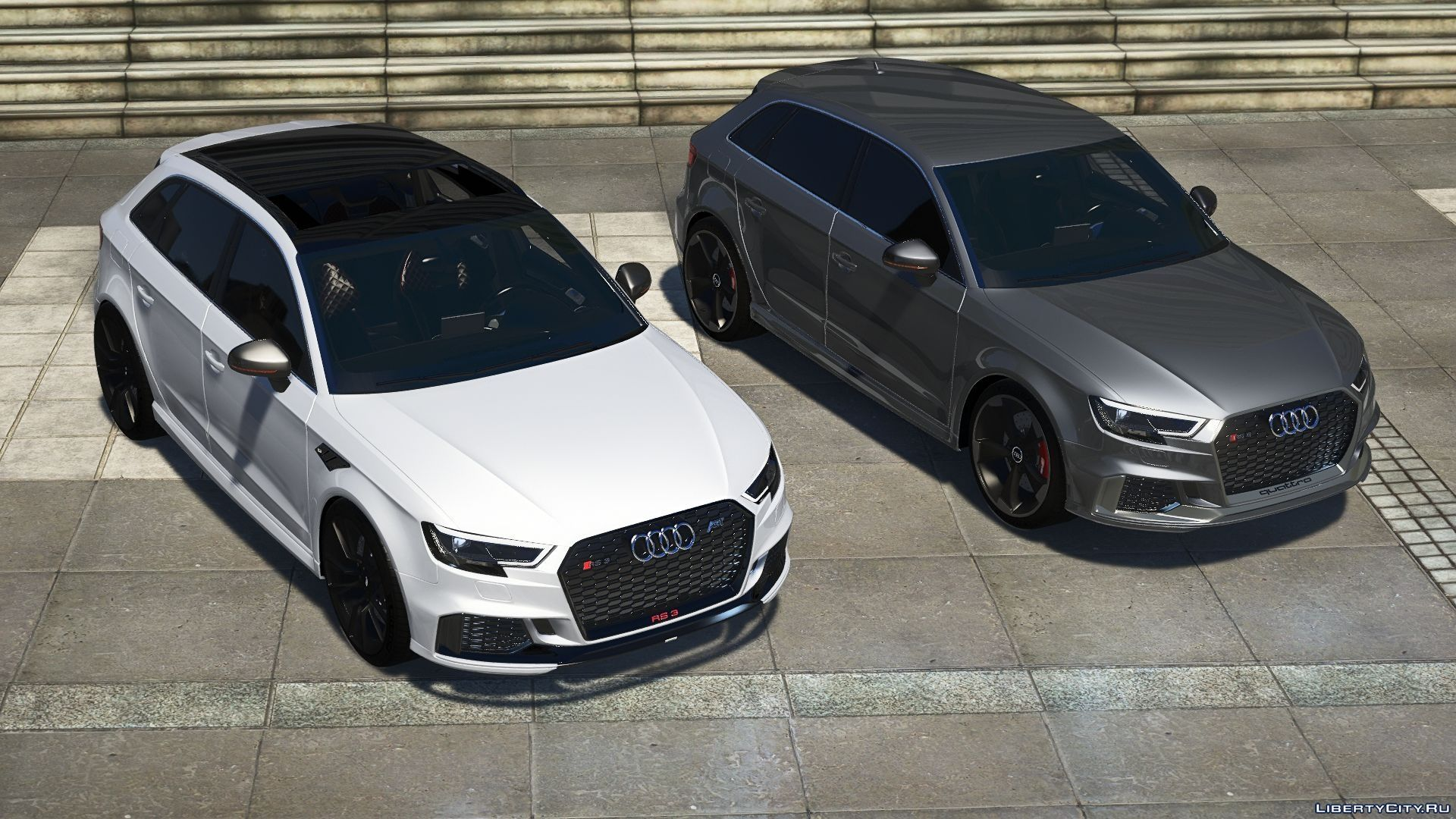 Audi rs3 Sportback 2018 Add-on / Tuning / ABT for GTA 5