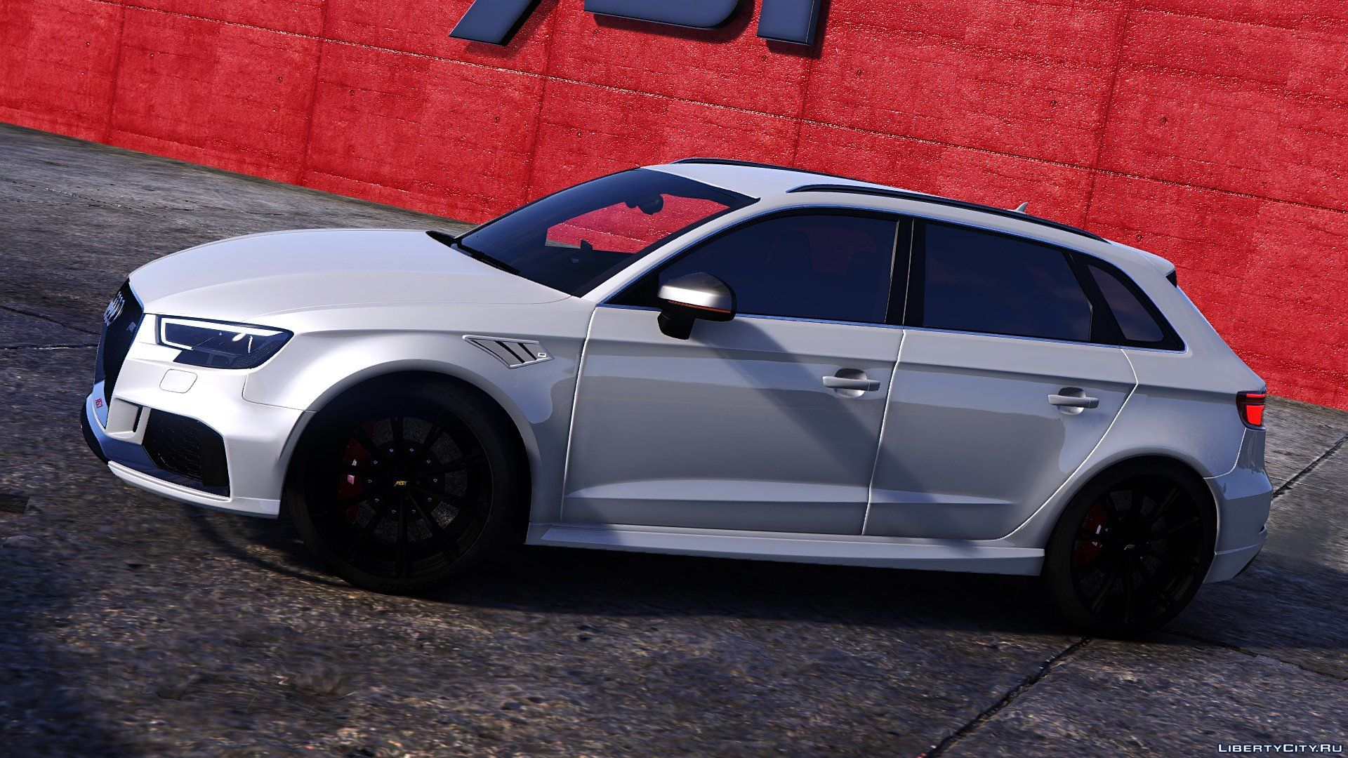 audi rs3 sportback 2018 add on tuning abt for gta 5. Black Bedroom Furniture Sets. Home Design Ideas