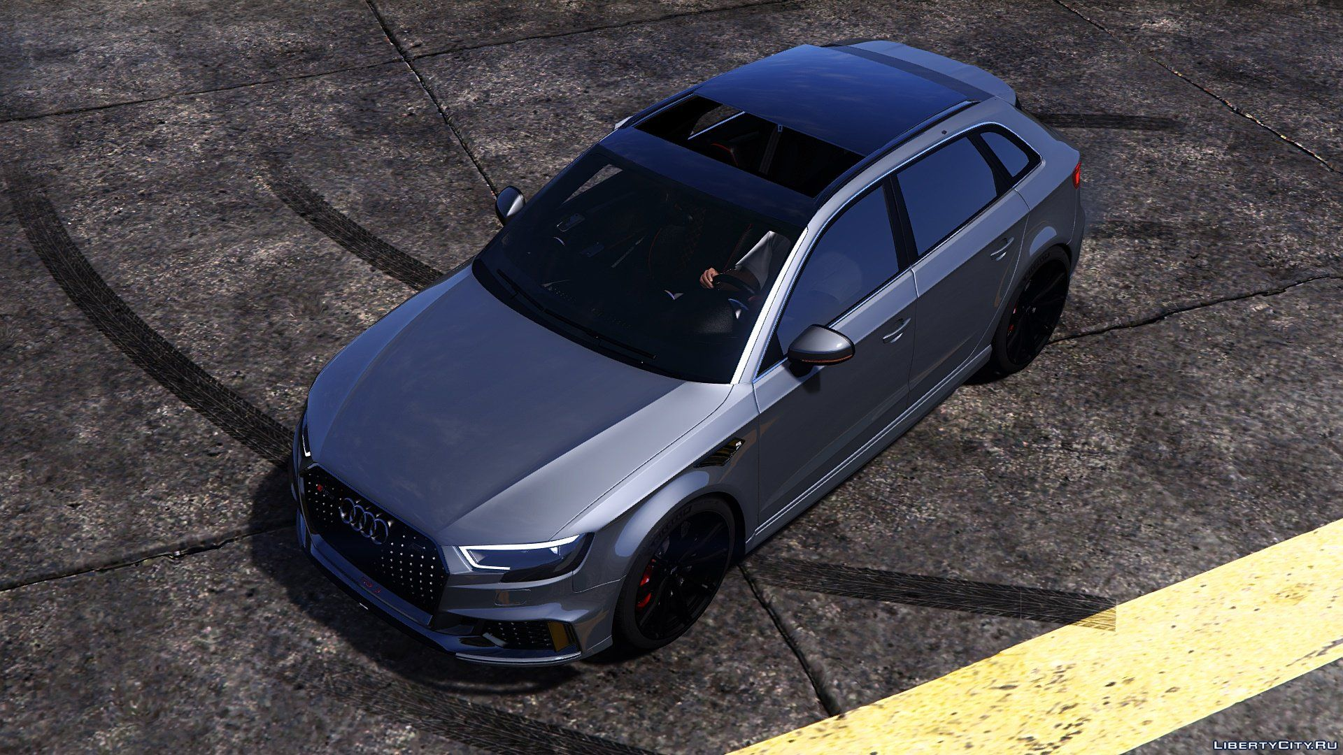 Audi Rs3 Sportback 2018 Add On Tuning Abt For Gta 5