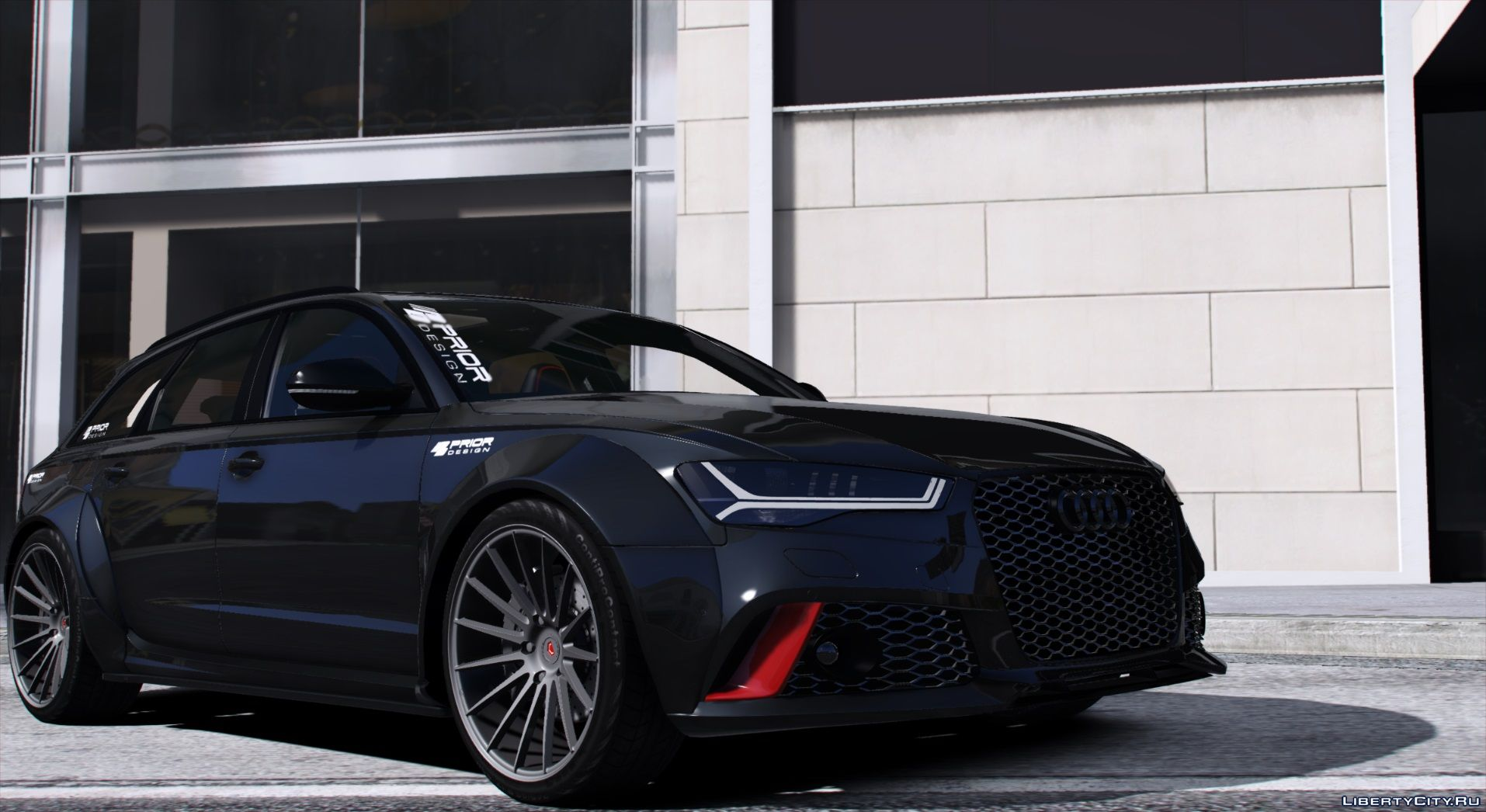 Audi A6 Rs6 Prior Design 2016 Add On 1 1 For Gta 5