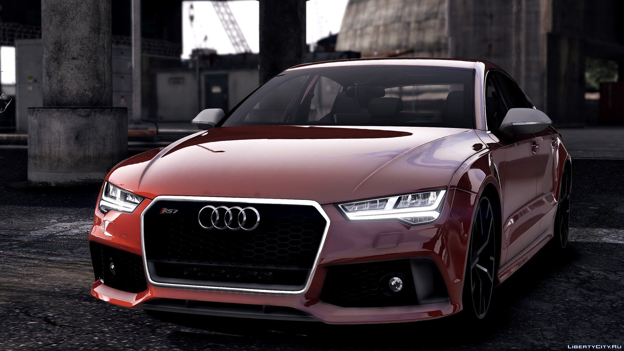 2015 audi rs7 sportback add on replace 1 2 for gta 5. Black Bedroom Furniture Sets. Home Design Ideas