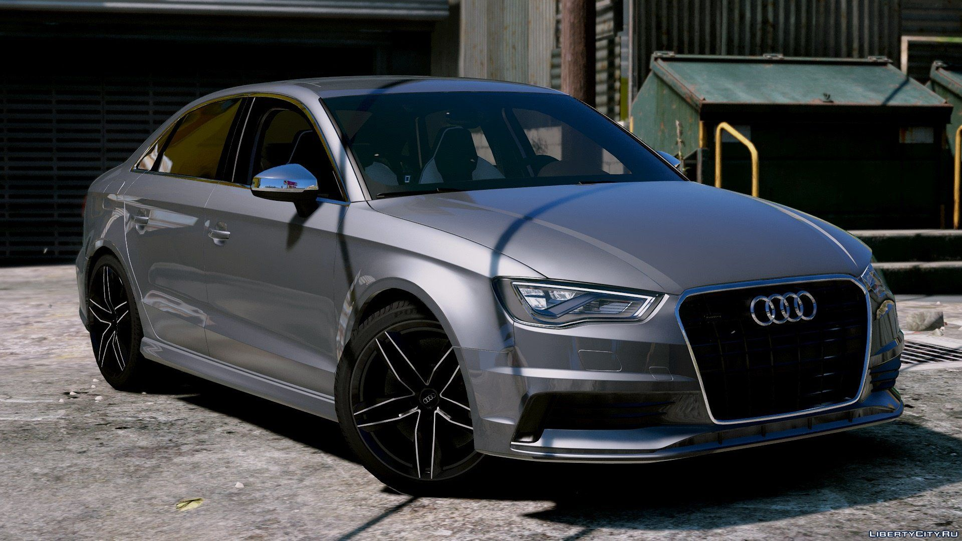 audi a3 sedan 2 0t 2015 1 0 for gta 5. Black Bedroom Furniture Sets. Home Design Ideas