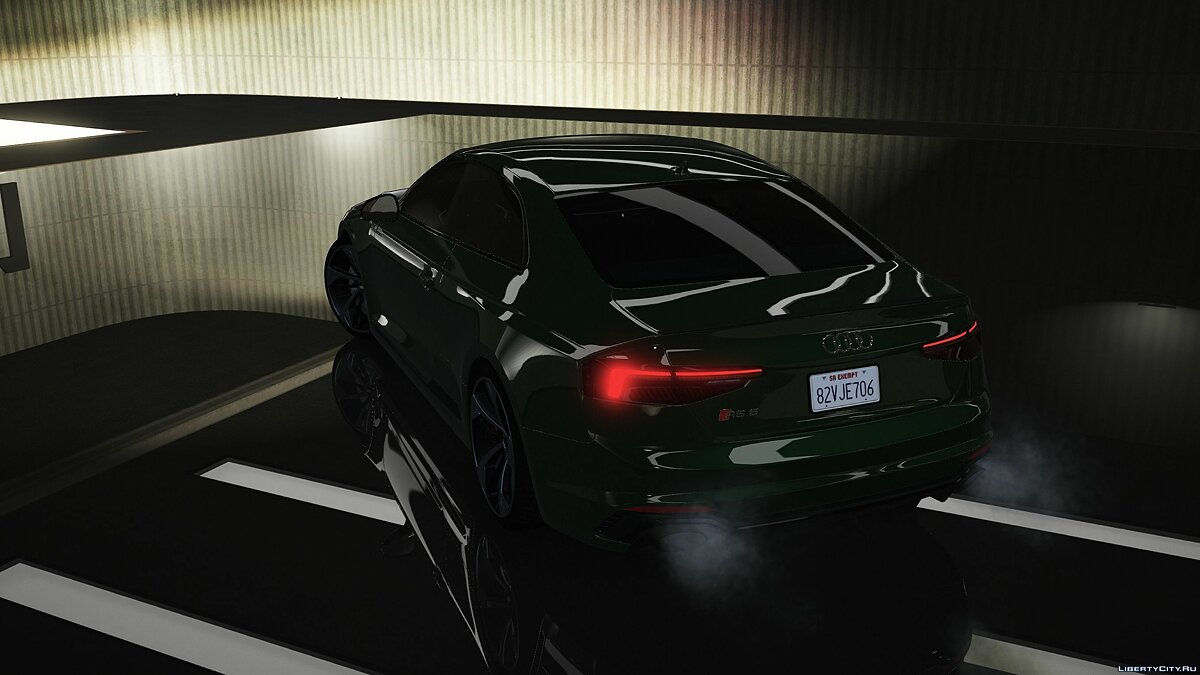 Audi car Audi RS5 2018 [Add-on] 1.0 for GTA 5
