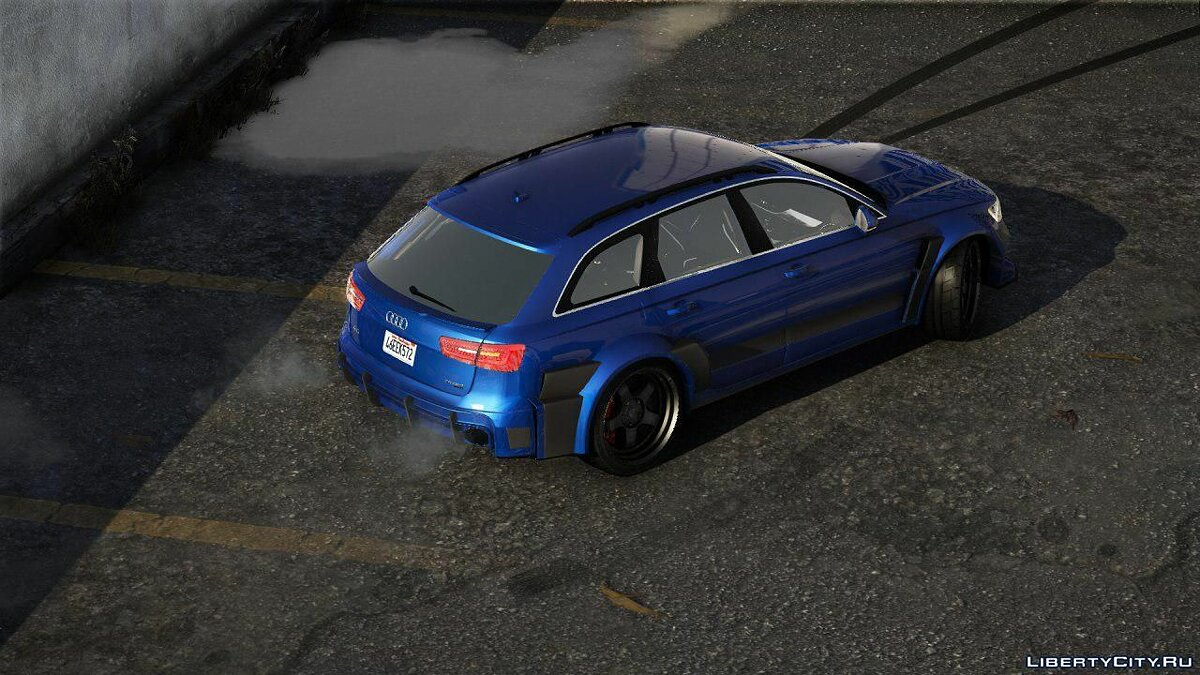 Audi car Audi A6 fnbodykit [Add-On | Tuning | Animated] 1.0 for GTA 5