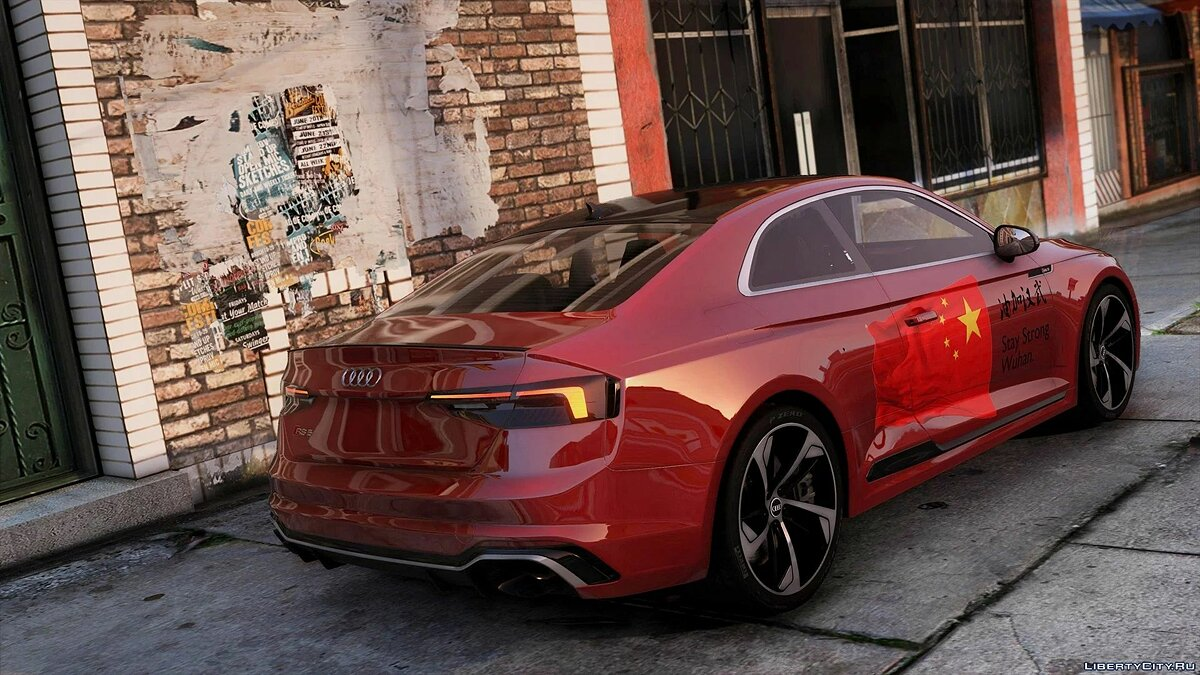 Audi car Audi RS5 Coupe 2018 [Add-On] 1.0 for GTA 5