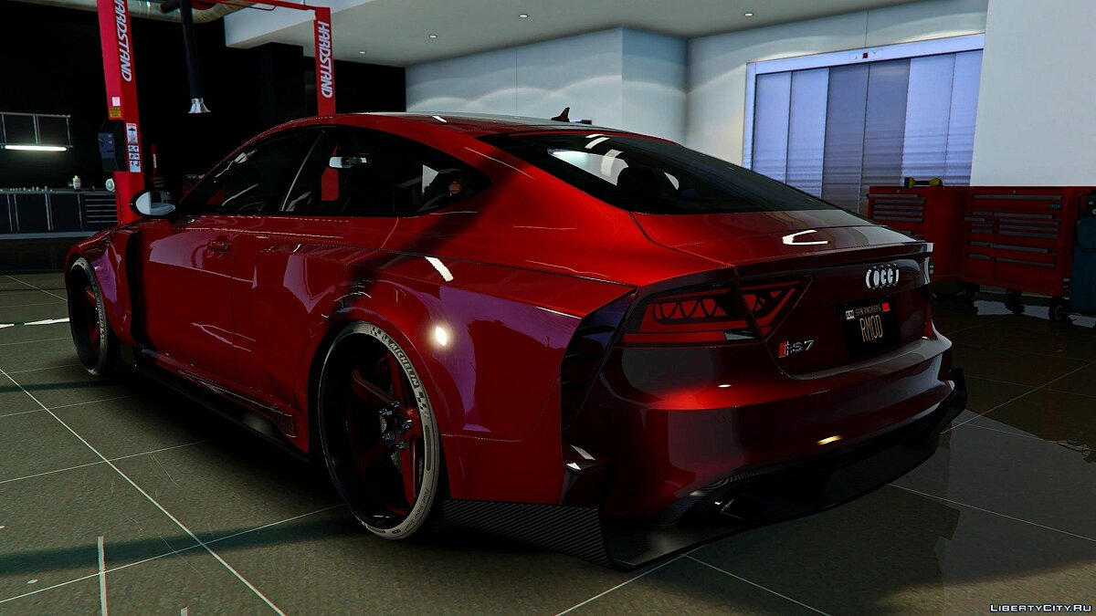 Audi car Audi RS7 Sportback Widebody Kit [Add-On / OIV | Tuning | Auto-Spoiler] 1.0 for GTA 5