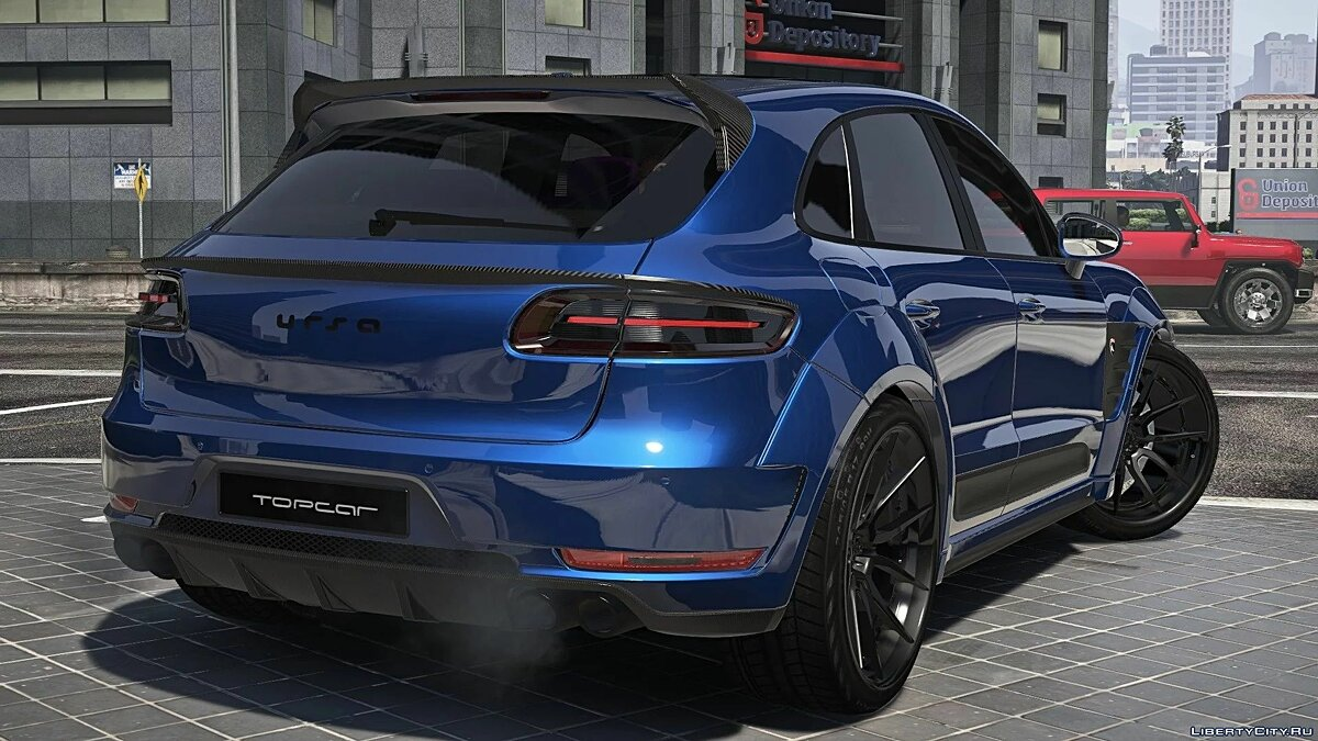 Audi car Audi RS6 2016 [Add-On | Template] for GTA 5