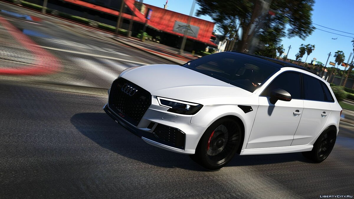 Audi car Audi rs3 Sportback 2018 [Add-on / Tuning / ABT] for GTA 5