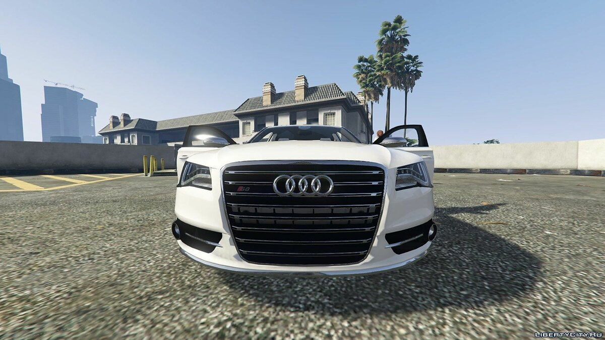 Audi car 2013 Audi S8 4.0TFSI Quattro v1.3 for GTA 5