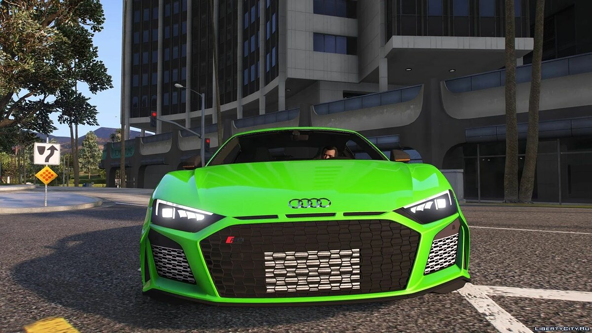 Audi car AUDI R8 2020 [Add-On | Replace] 1.0 for GTA 5
