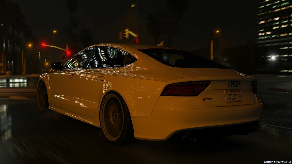 Audi car Audi RS7 Sportback [Add-On / Replace] 1.3 for GTA 5