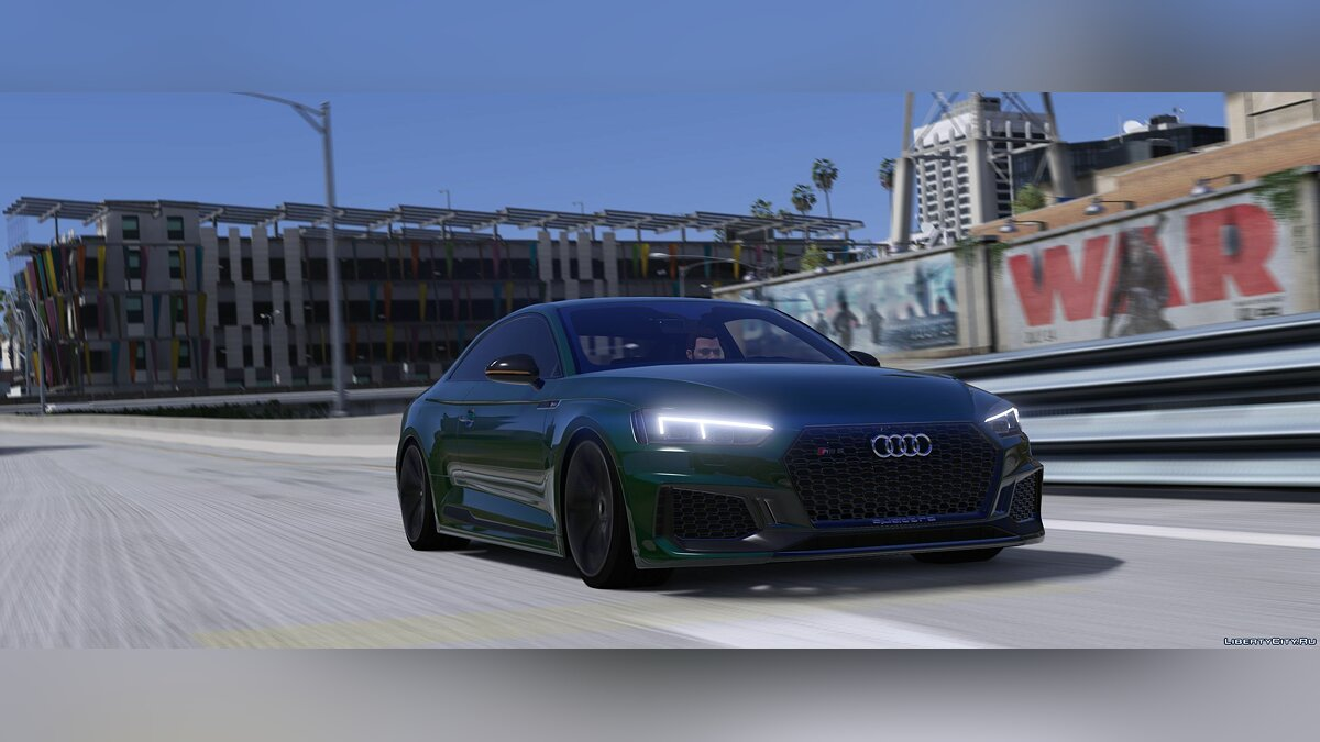 Audi car Audi RS5 2018 [Add-On] 1.1 for GTA 5