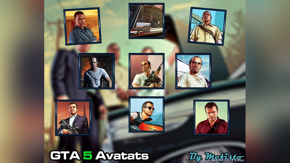Avatar GTA 5 (GTA 5 Avatars) for GTA 5