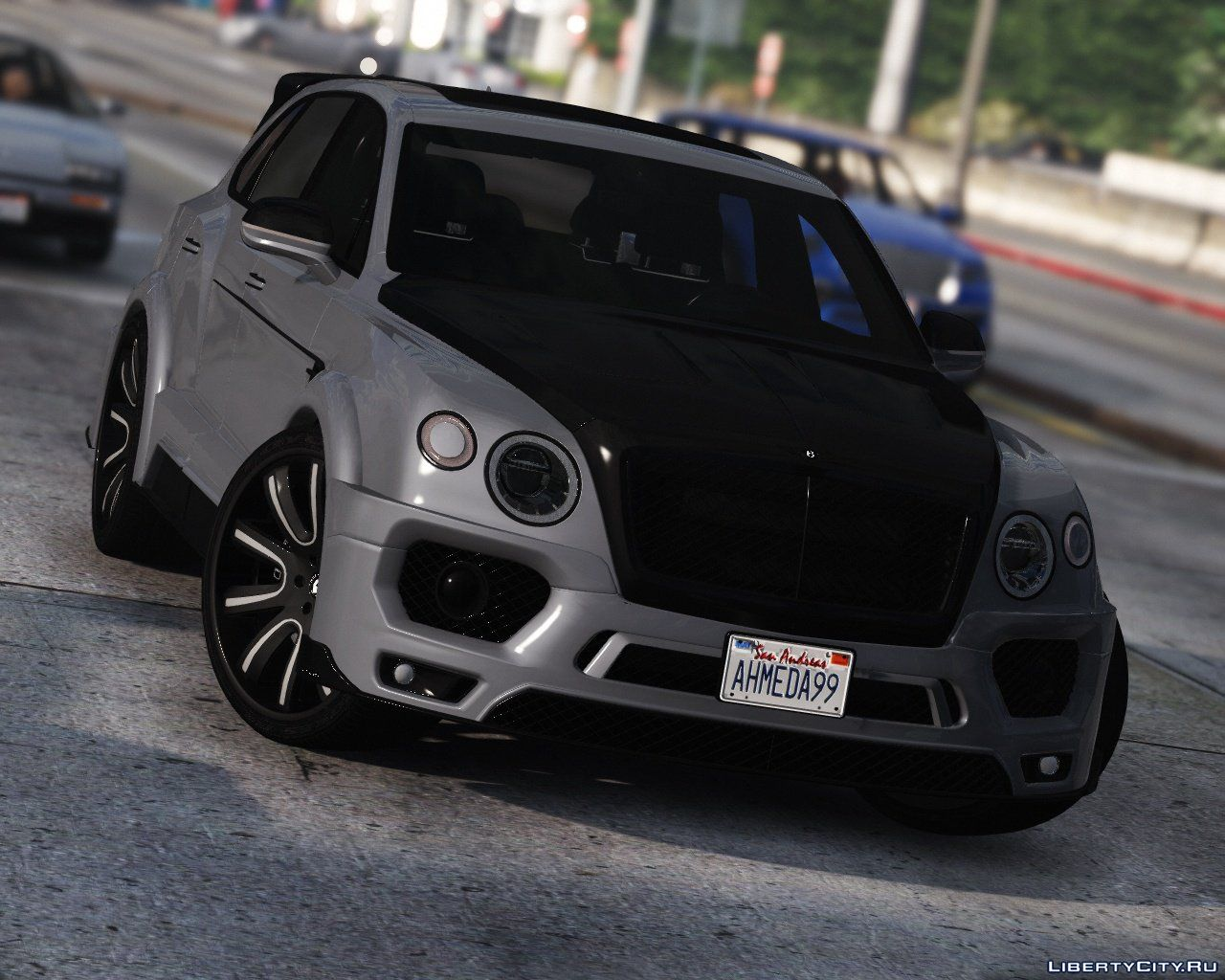 2017 Bentley Bentayga Mansory Add On Analog Digital Dials 1 0 For Gta 5