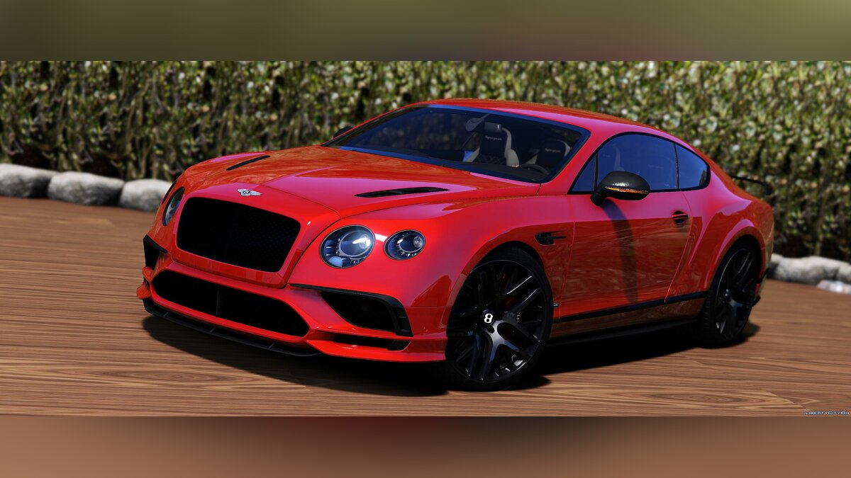 Bentley car 2018 Bentley Continental GT Supersports [ADD-ON / TEMPLATE / Automatic Spoiler] 1.0 for GTA 5