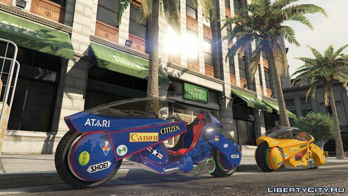 Bicycle Kaneda´s Bike From Akira (addon) for GTA 5