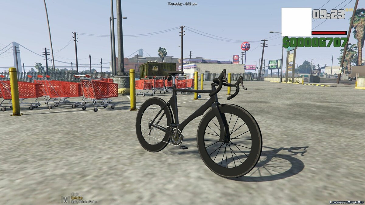 Bicycle Civilian racing bike for GTA 5