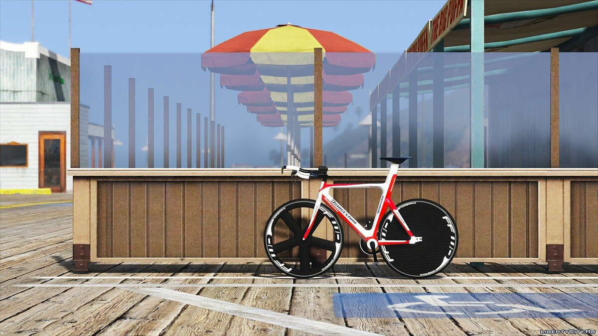 Bicycle Bridgestone Track Bike [Replace] 1.0 for GTA 5