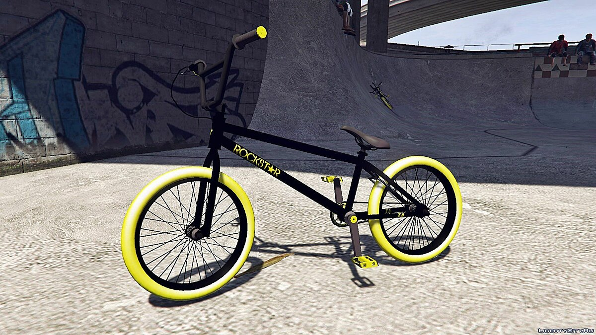 Bicycle Bmx Rockstar Energy [Addon / Replace] 1.0 for GTA 5