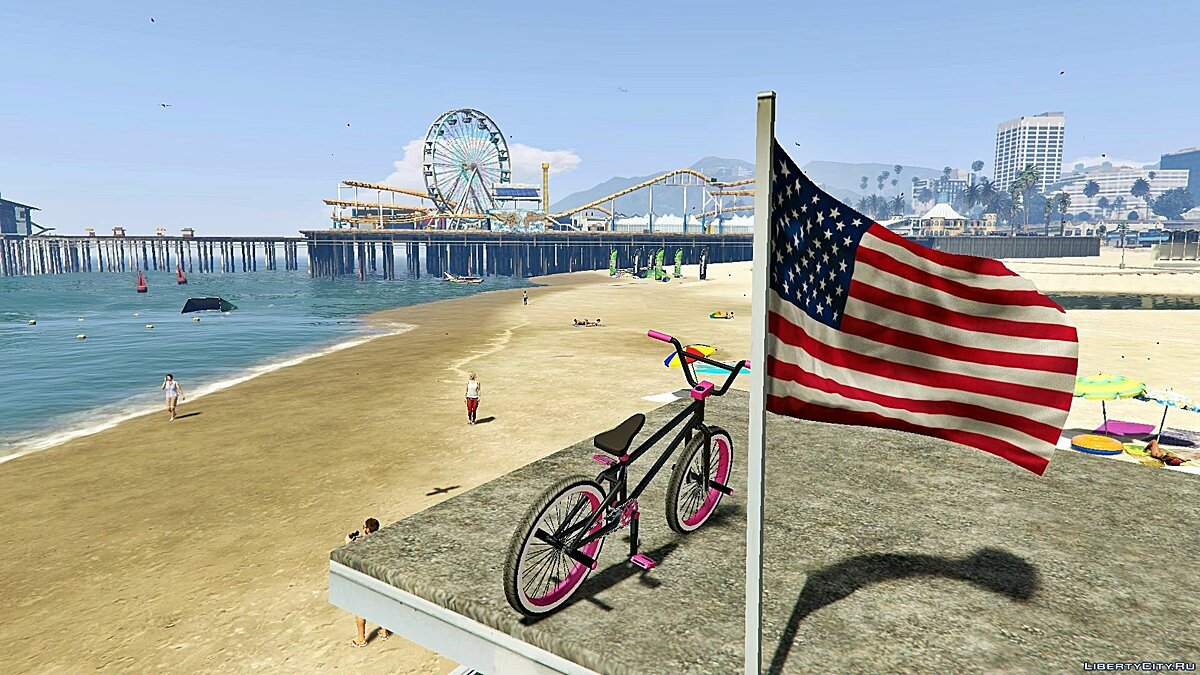 Bicycle Bmx Street With Pegs [Addon / Replace] 1.0 for GTA 5