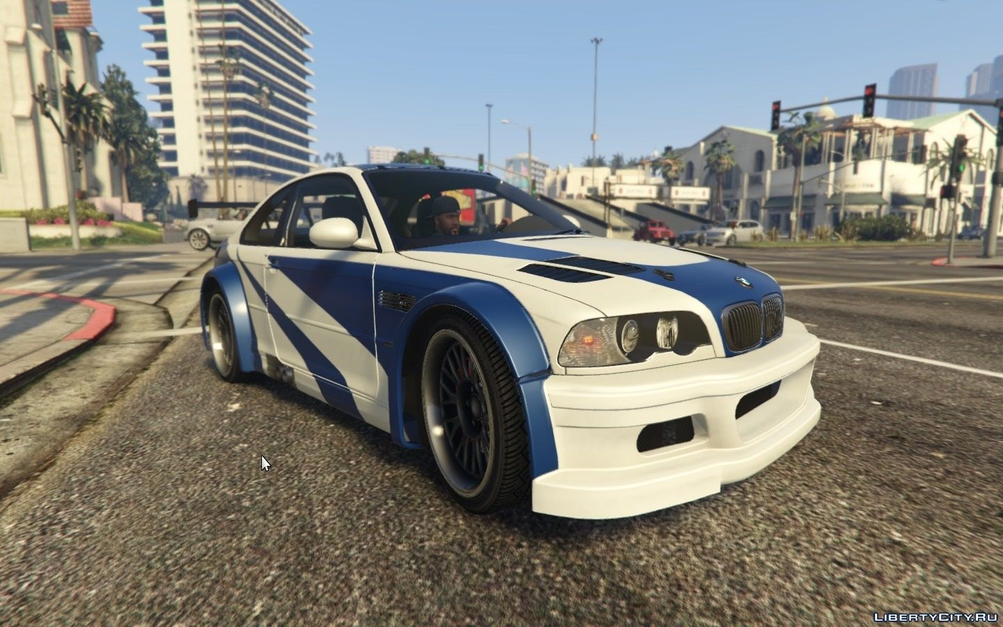 """BMW M3 GTR E46 """"Most Wanted"""" for GTA 5"""