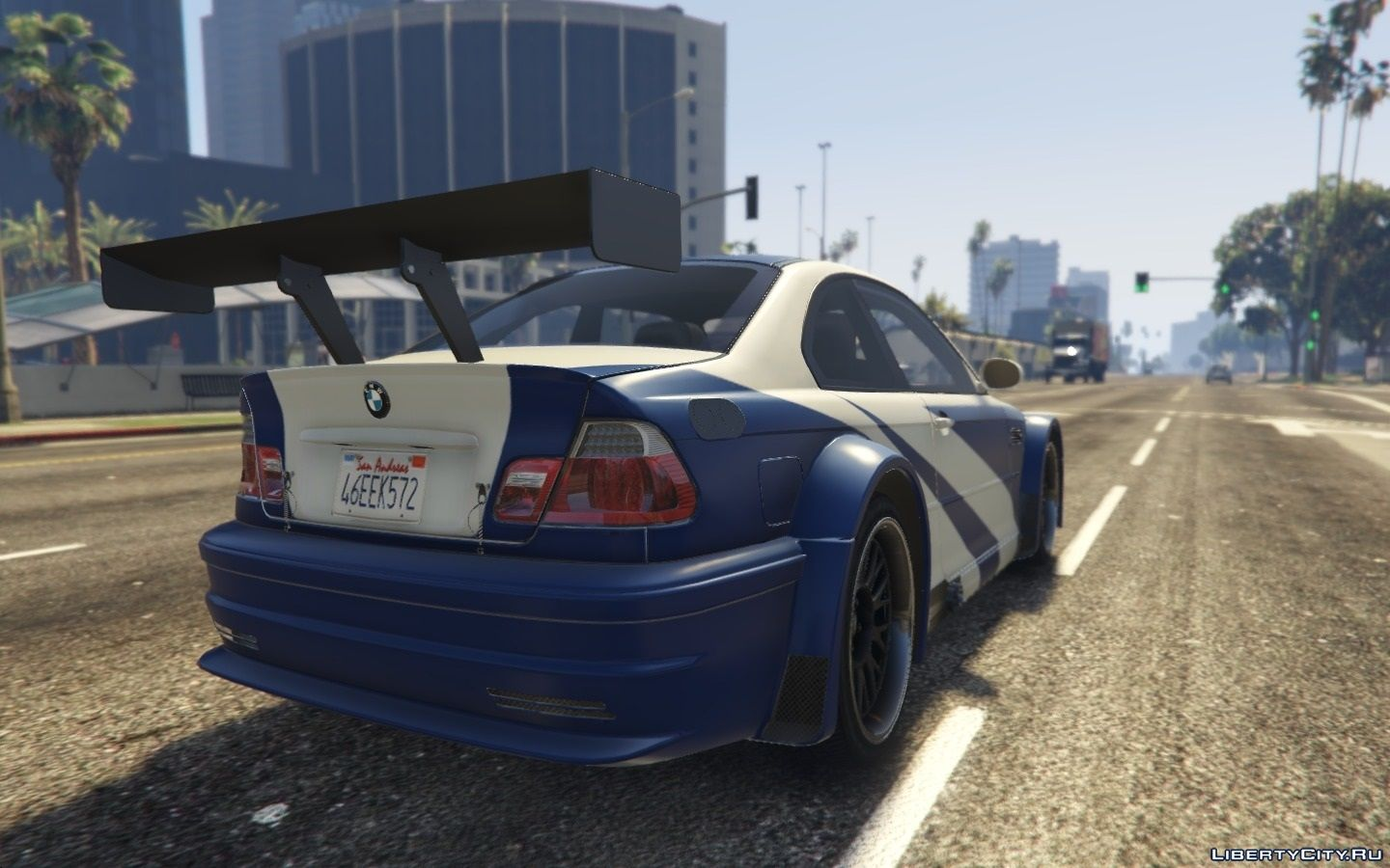 Bmw M3 Gtr E46 Most Wanted For Gta 5
